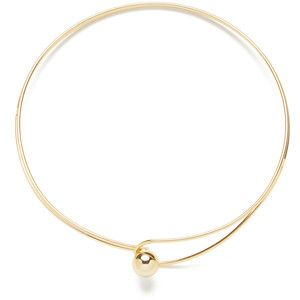 Orb Loop Choker Statement Necklace