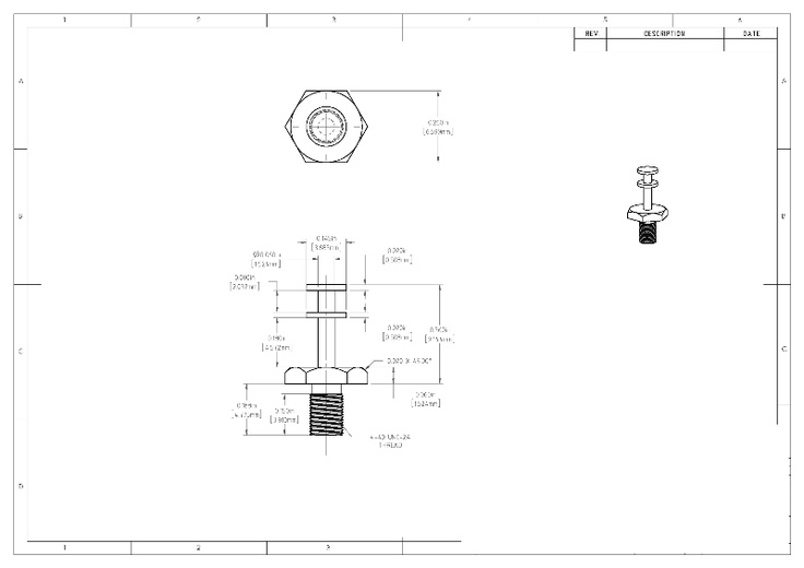 mechanical drafting projects