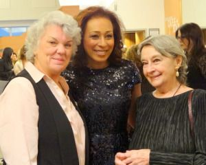 L to R: Tyne Daly, Tamara Tunie, LPTW Lifetime Achievement Award Winner, Zoe Caldwell