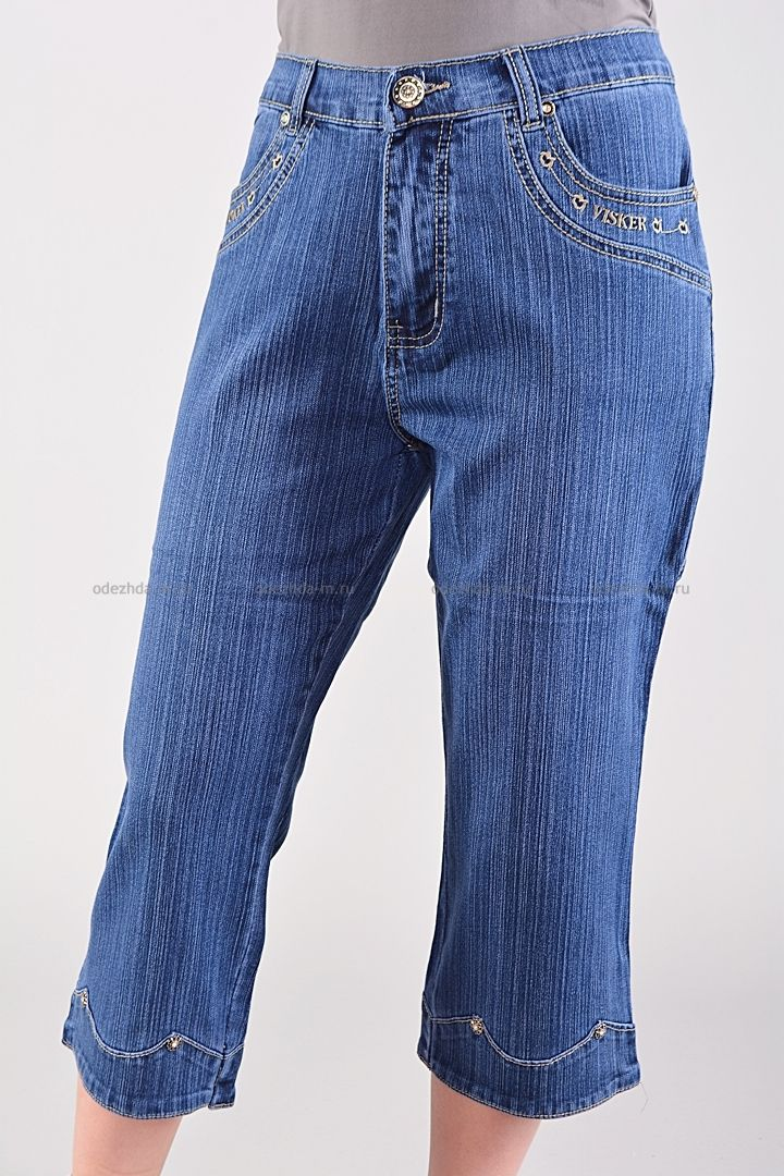 Капри Б7947  Цена: 196 руб    Стильные джинсовые капри с традиционной застежкой, дополнены карманами.  Состав: 100 % хлопок.  Размеры: 38-44     http://odezhda-m.ru/products/kapri-b7947     #одежда #женщинам #бриджикапри #одеждамаркет