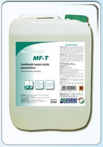 Detergent dezinfectant concentrat,ce conţine saruri cuaternare amoniu cu capacitate mare de îndepărtare a murdăriei