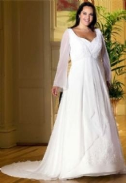 Plus Size Bridal Gowns from Sidney's Closet - 24 Plus size wedding dresses to view.