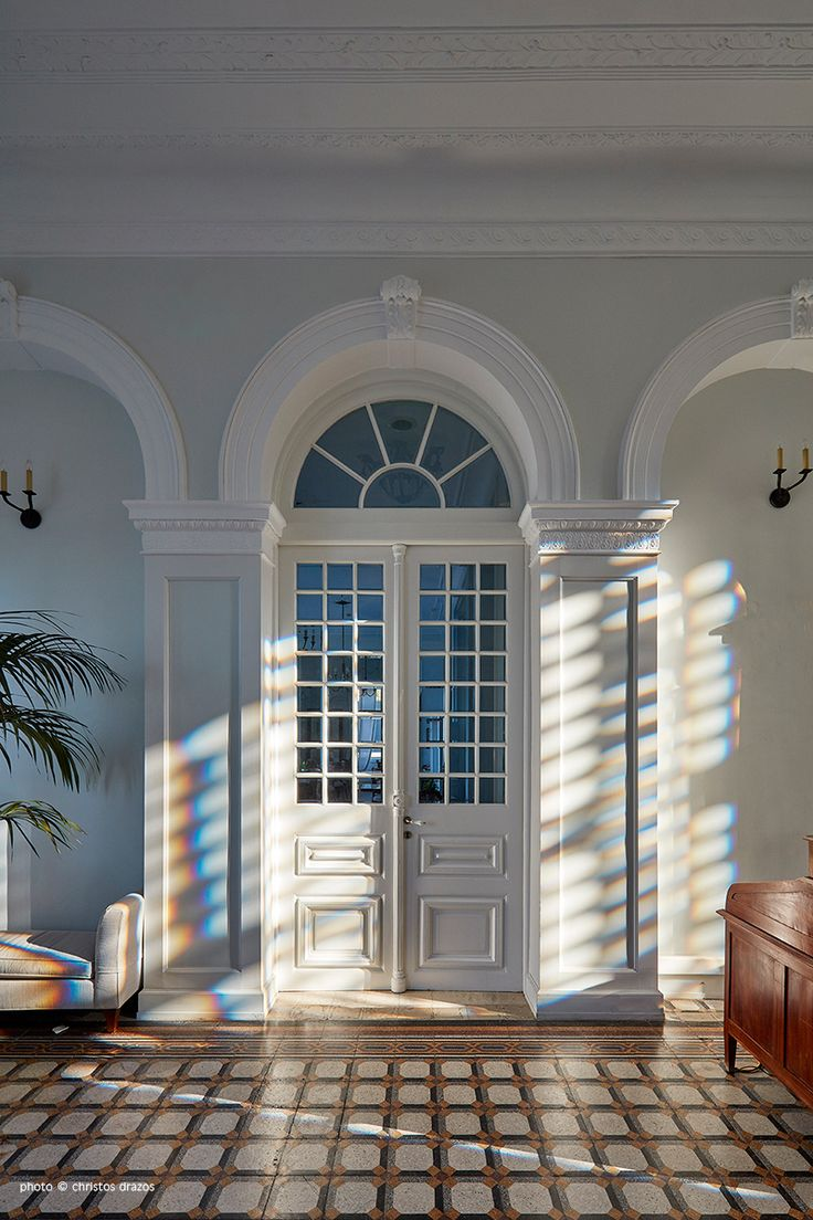 Games of light at the Poseidonion Grand Hotel, Spetses