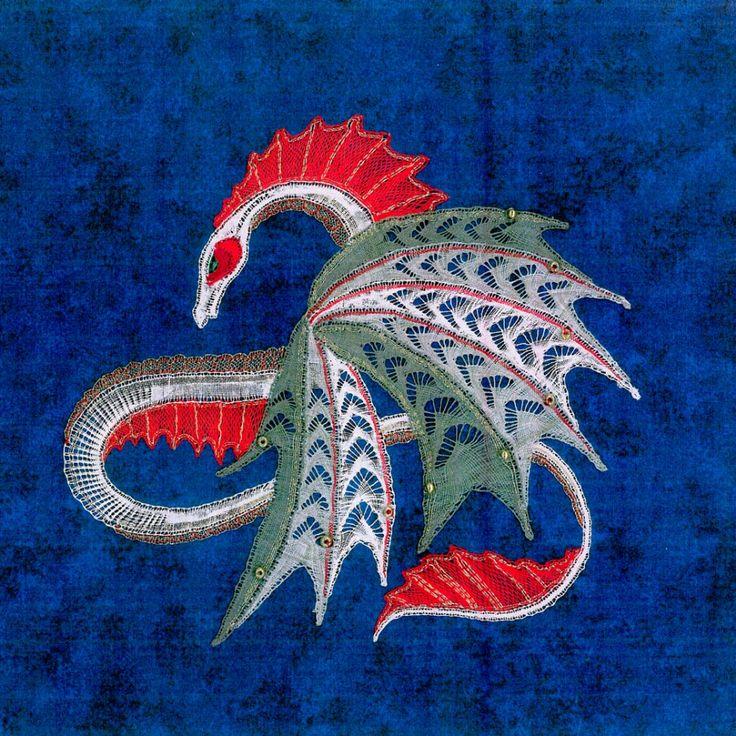 Milanese bobbin lace pattern Jingle