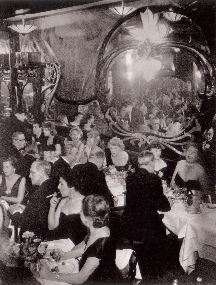 SOIREE AT MAXIM'S PARIS 1946