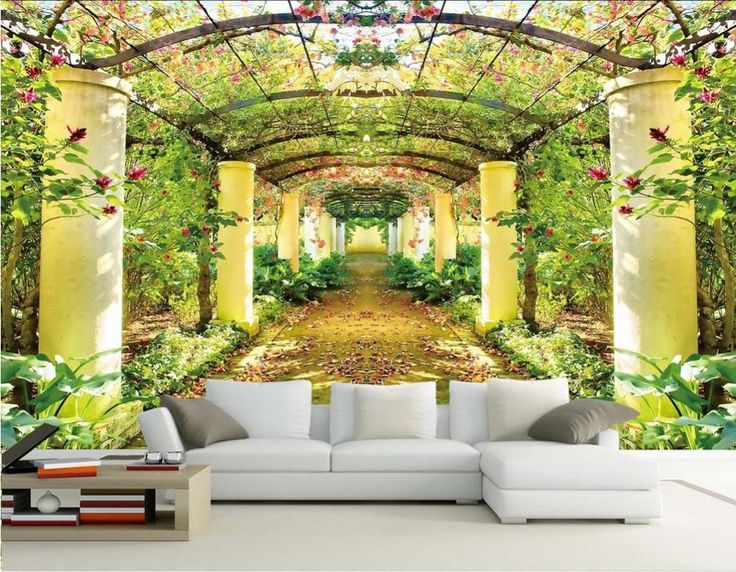 3d Wall Murals, Photo Quality And Forest Wallpaper