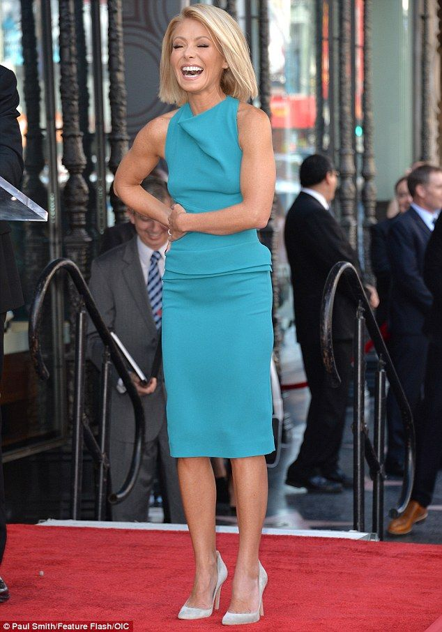 ♥♥♥Kelly Ripa♥♥♥ Full of joy: Kelly sweetly told the crowd, 'You will never find anyone who is more appreci...