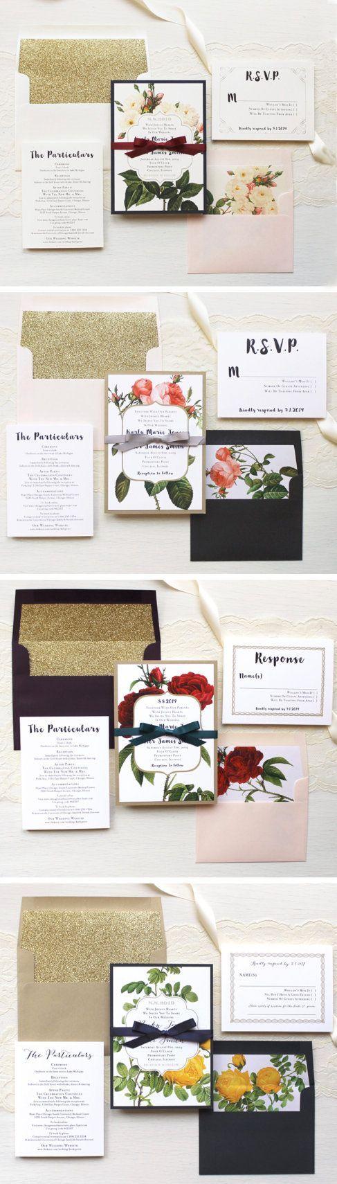 33 Best Wedding Invitations Images On Pinterest Retro Weddings