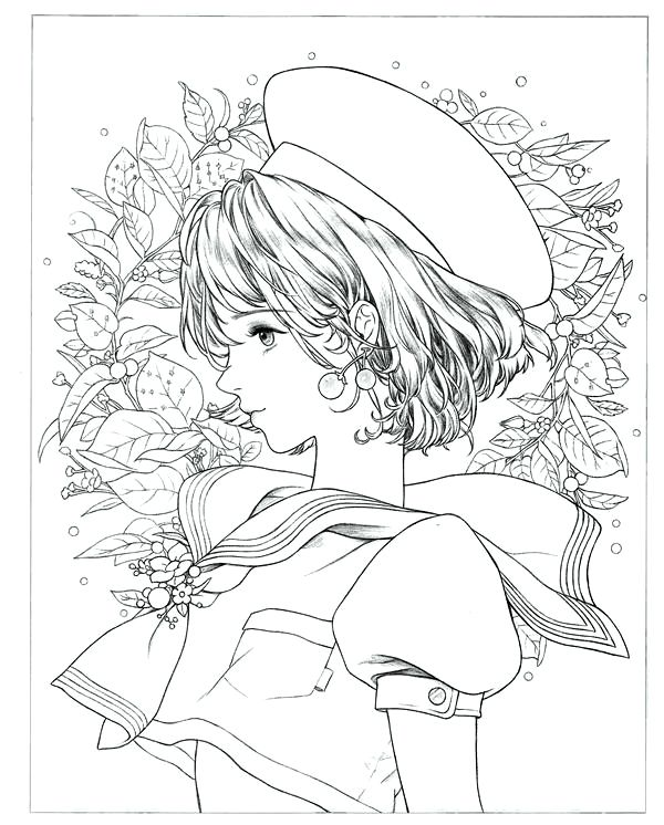 Download Portrait Coloring Book Mystica Coloring Book Art Fairy Coloring Pages Coloring Books