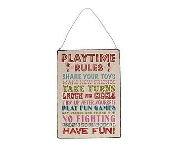 "Dekorace ""Playtime"", 28 x 20 cm"