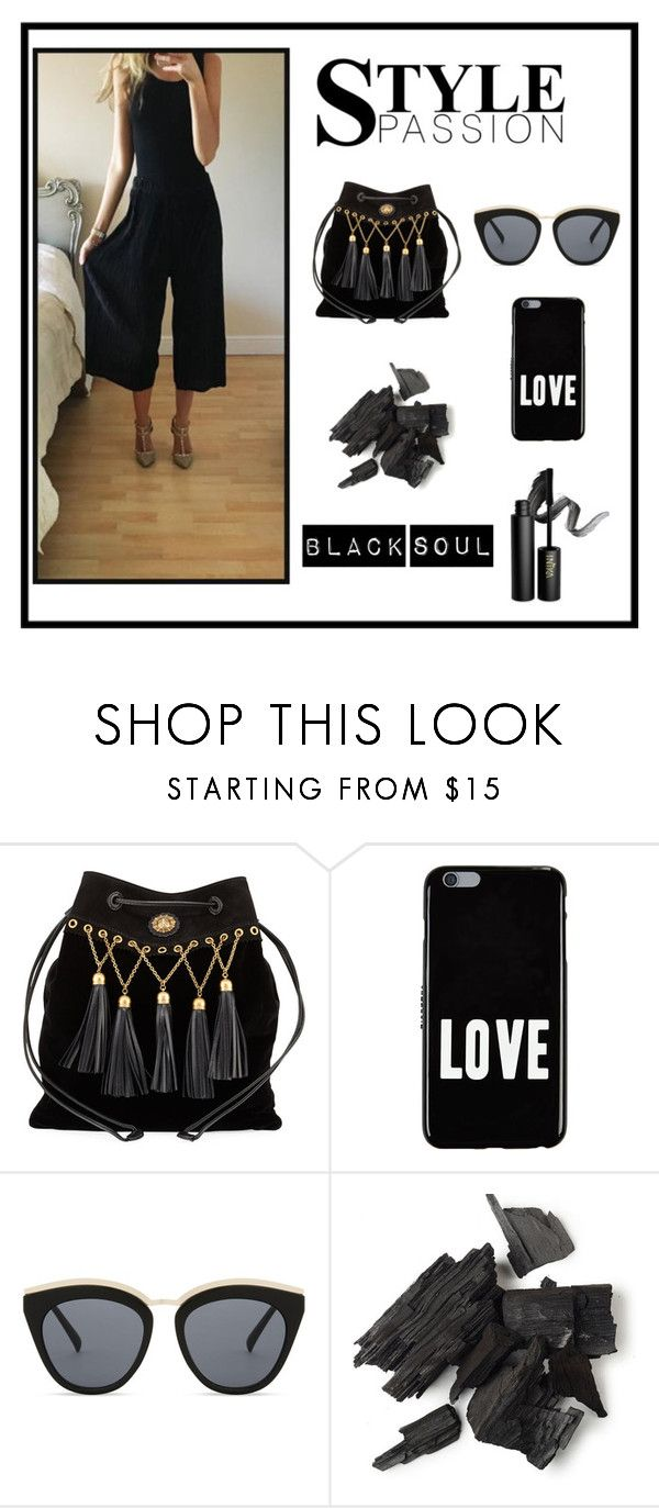 When your favourite colour is black! by sales-151 on Polyvore featuring Miu Miu, Givenchy, Le Specs and INIKA