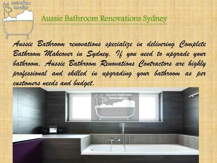 Aussie Bathroom renovations specialize in delivering Complete Bathroom Makeover in Sydney, If you need to upgrade your bathroom, Aussie Bathroom Renovations Contractors are highly professional and skilled in upgrading your bathroom as per customers needs and budget.