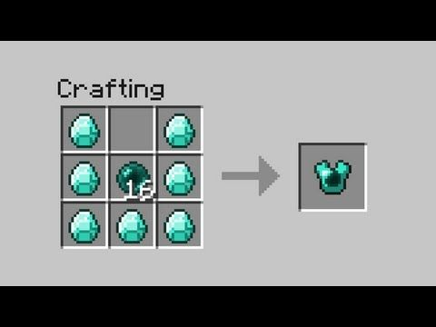 minecraft how to know crafting recipes