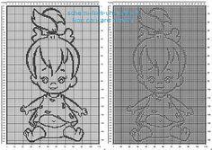 Copertina neonato con Ciottolina dei Flintstones Gli Antenati download gratuito