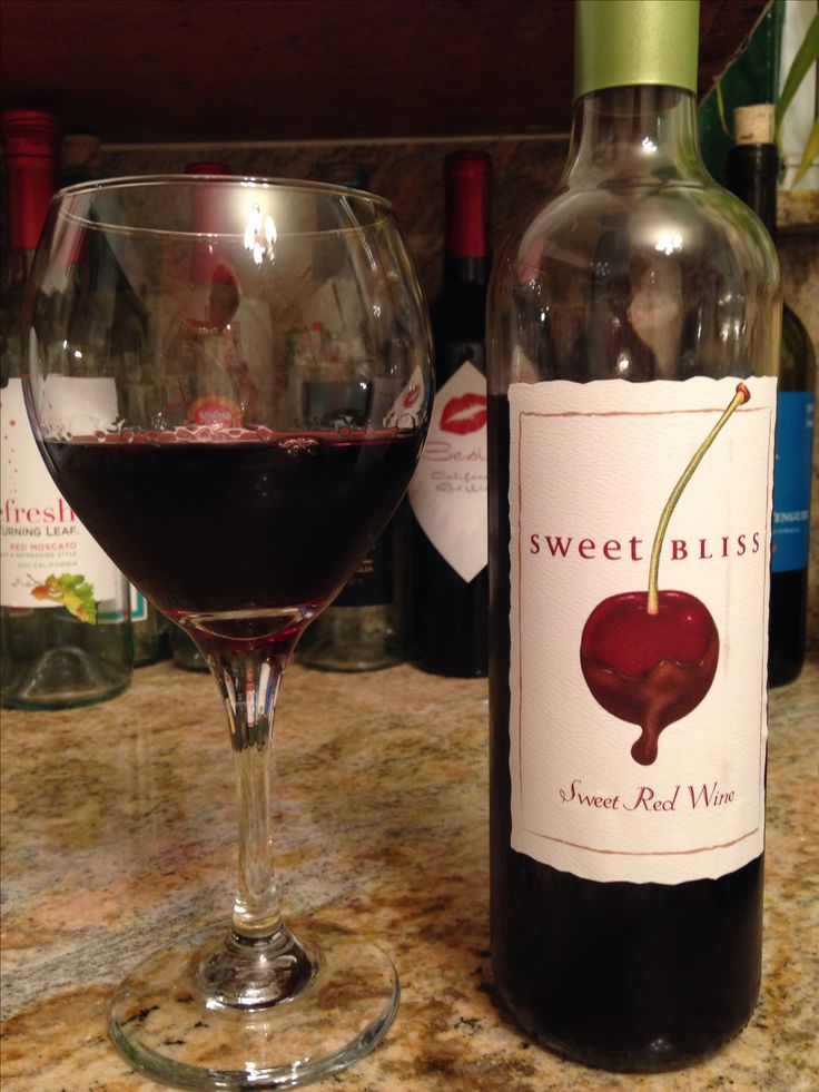 Sweet Bliss... sweet red wine... inexpensive and good (: