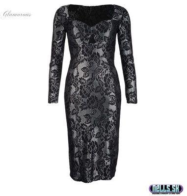 Dámske oblečenie   Dámske šaty   Glamorous lace šaty čierne   www.nells.sk - Parfumy, kozmetika a oblečenie svetových značiek.