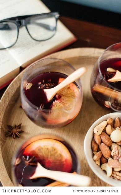 The smell of mulled wine, or glühwein as it is known here, always takes my thoughts on a trip down memory lane. My first encounter with the warm fragrant beverage was as a young teenage girl at my great-aunt's house in Swellendam. It was a rainy winter's weekend and we were sitting in front of the fireplace. I soaked up the grown-up conversation while I warmed my hands around the steaming red drink.