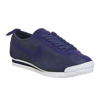 Nike Cortez '72 M Loyal Blue Black Metallic White Qs - His trainers
