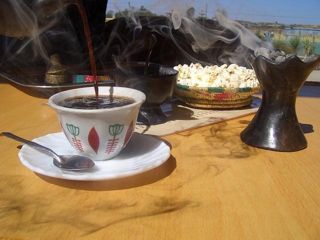 Traditional Ethiopian Coffee Ceremony by AL L E, via Flickr