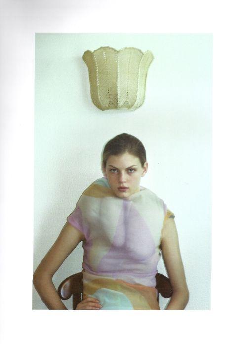Angela Lindvall by Mark Borthwick for Purple Magazine 1996