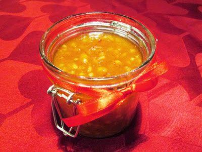 En verden af smag!: Appelsinmarmelade med Mandler