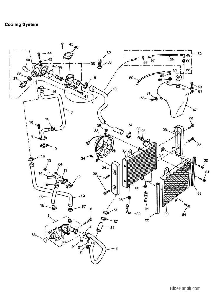 1998 Triumph Thunderbird Sport Parts, 1998 Triumph Thunderbird Sport OEM Parts - BikeBandit.com