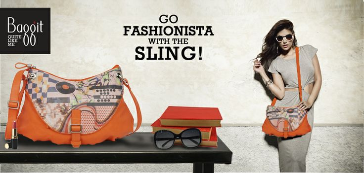 Grab these Lovely Slings Now at: www.baggit.com