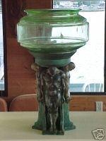 Antique fish bowl I covet. Very rare.