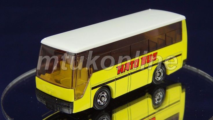 TOMICA 041D ISUZU SUPER HI-DECKER BUS | 1/145 | 41D-1 | ORIGINAL | 1988 JAPAN