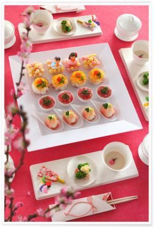 かめ代のかんたん!かわいい!おうちパーティー「可愛いひな祭りテーブル♪」 | お菓子・パンのレシピや作り方【corecle*コレクル】