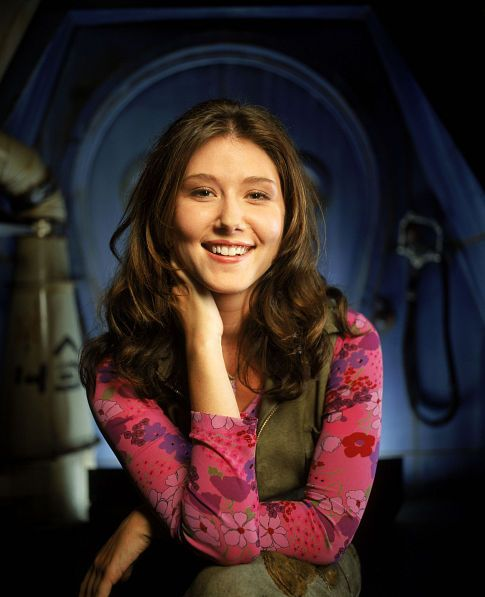 Jewel Staite- Kaylee Frye on Firefly, my fav. shes so cute!