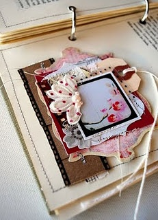 .: Books Pages, Blog Parties, Names Tags, Minis Books, Pink Couch, Art Journals, Tara Anderson, Greeting Card, Gifts Tags