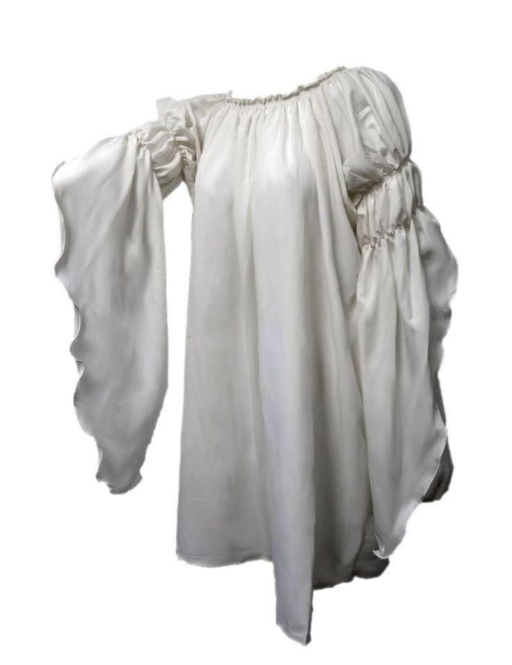 I-D-D Renaissance Medieval Peasant Dress Up Pirate Faire Celtic Blouse #IDoDeclare #TopsShirts