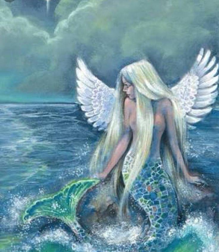 картинки ангел и феи русалки тут