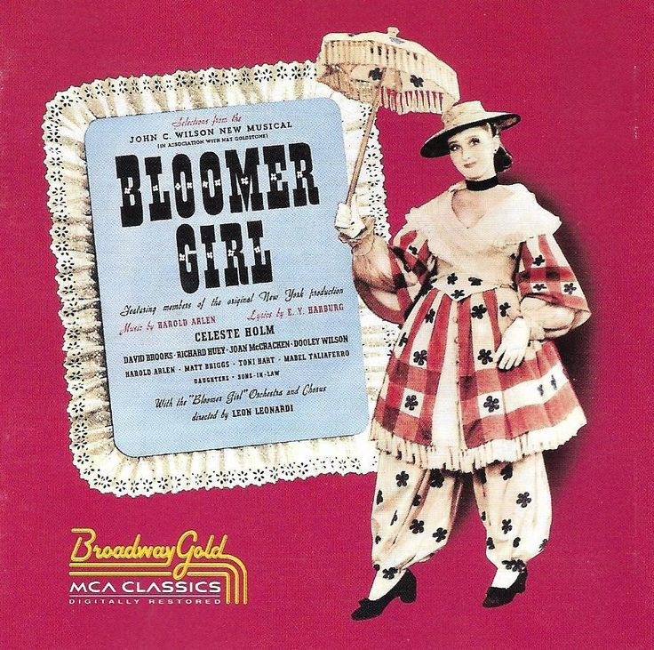 Bloomer Girl - Original Cast - John Wilson - Harold Arlen - E.Y. Barburg CD 1992