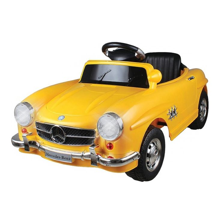 mercedes benz classic sls battery powered ride on car for kids 6v