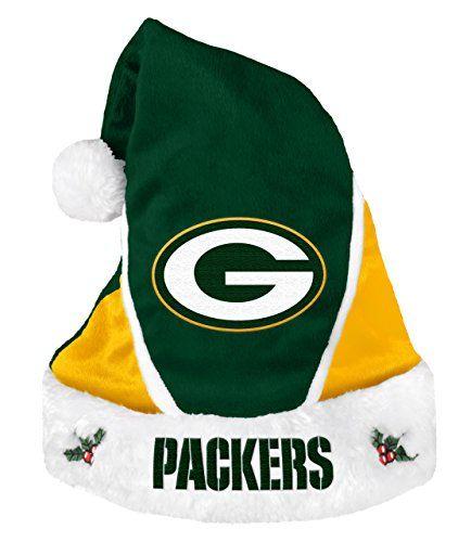 Green Bay Packers Santa Hats