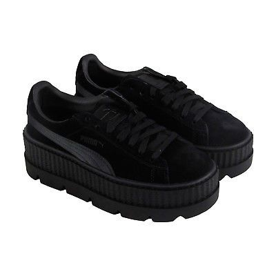 Puma Womens Fenty by Rihanna black Cleated Creeper 36626804 Sneakers Shoes 8b5d445aa37