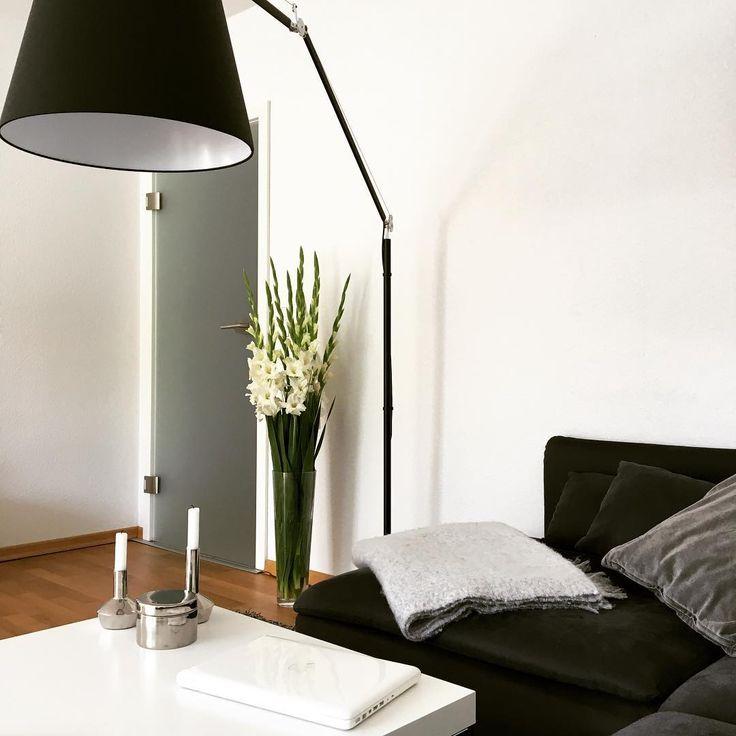 Tolomeo Mega Floor Lamp, Black Finish, On Instagram Thanks To @ninadnkls : #