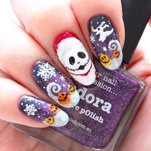Instagram media mininailblog Halloween #nail #nails #nailart