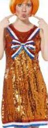Met dit pailetten #jurkje van Xenos trek je zeker de aandacht tijdens #Koningsdag. Iets voor jou? Bekijk de Xenos-folder op www.reclamefolder.nl of download onze app.