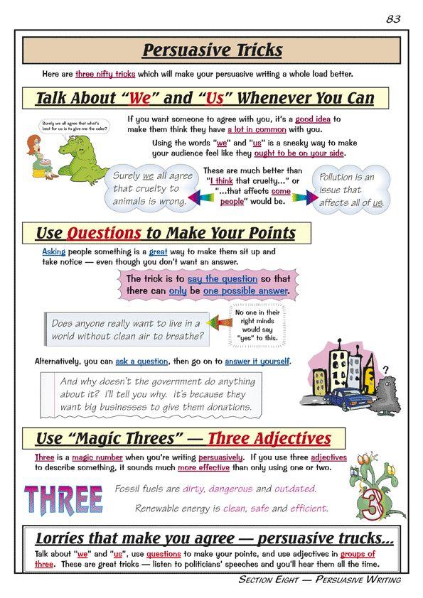 Essay writing help sheet