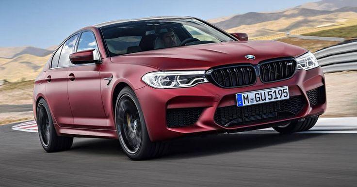 New BMW M5 Was Originally Rear-Wheel Drive #BMW #BMW_M5
