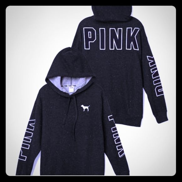 Size swap? I have this hoodie in a size small, looking for a medium. It is brand new with tags. PINK Victoria's Secret Sweaters Crew & Scoop Necks