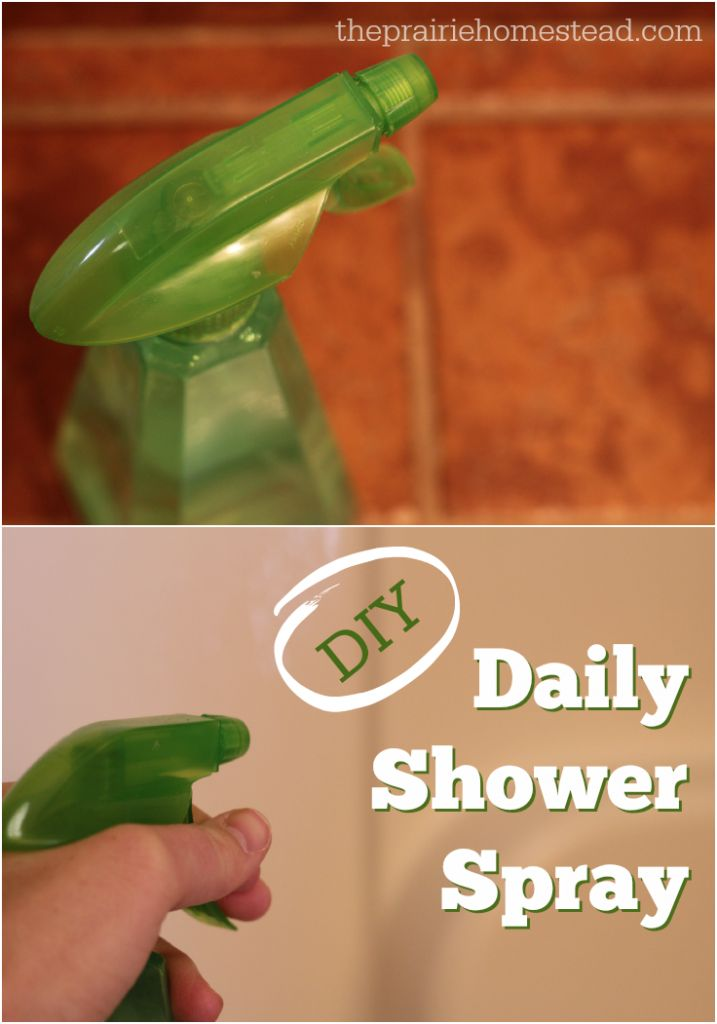 17 best ideas about daily shower cleaner on pinterest - Diy bathroom cleaner essential oils ...