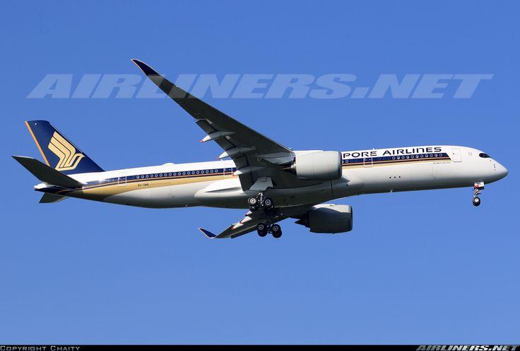 Airbus A350-941, Singapore Airlines, 9V-SMA, cn 026. Kuala Lumpur, Malaysia, 9.3.2016.