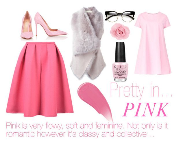 Pretty In Pink by kirravanblanken on Polyvore featuring Maiocci, Drome, Gianvito Rossi, Burberry and OPI