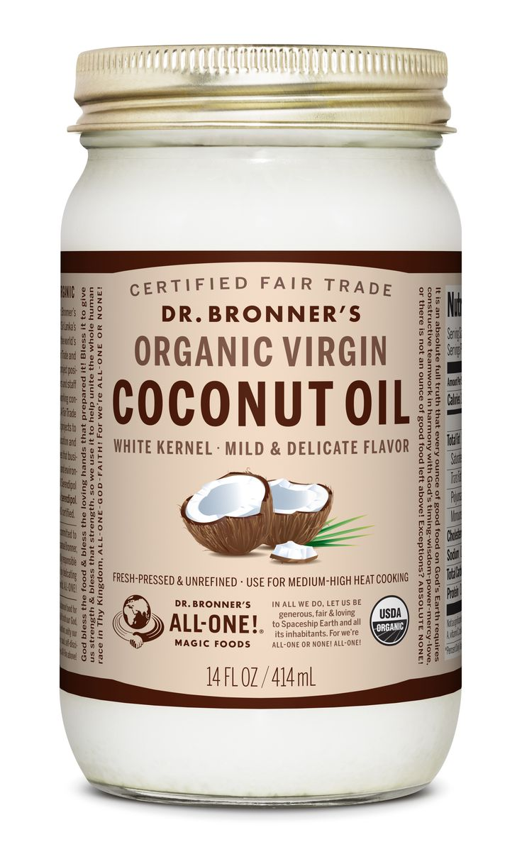 Dr. Bronner's Organic, Fair Trade White Kernel Virgin Coconut Oil: Expeller-pressed from fresh, carefully dried coconut kernels whose brown inner skins have been removed.