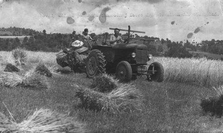 Traktor Škoda.
