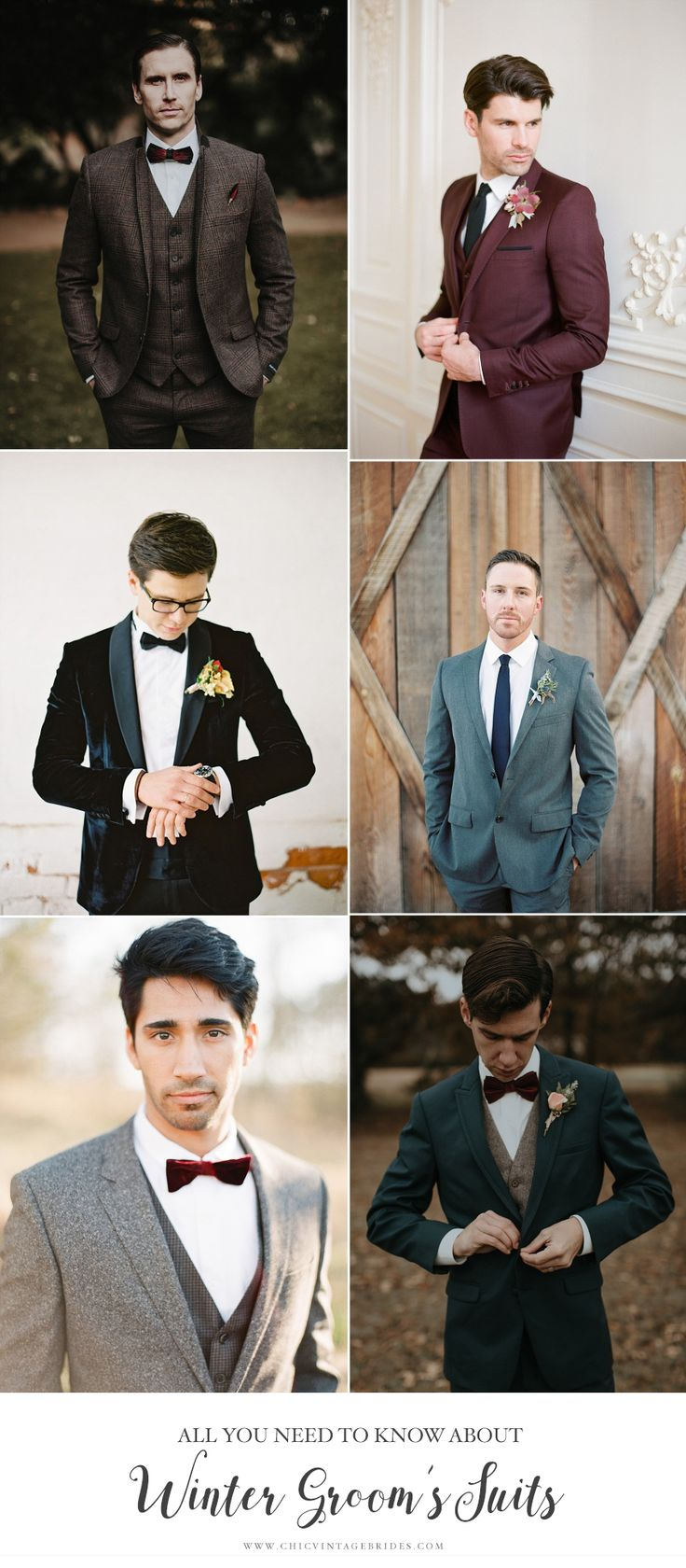 What to Look for in a Winter Groom's Suit
